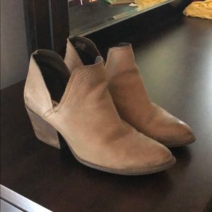 Steve Madden cut-out booties